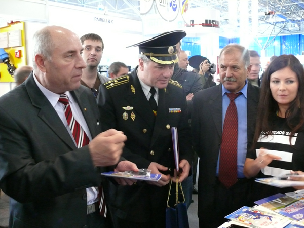 "Campania ""Make Roads Safe"" Moldova la Expozitia Internationala ""Security-2010"""
