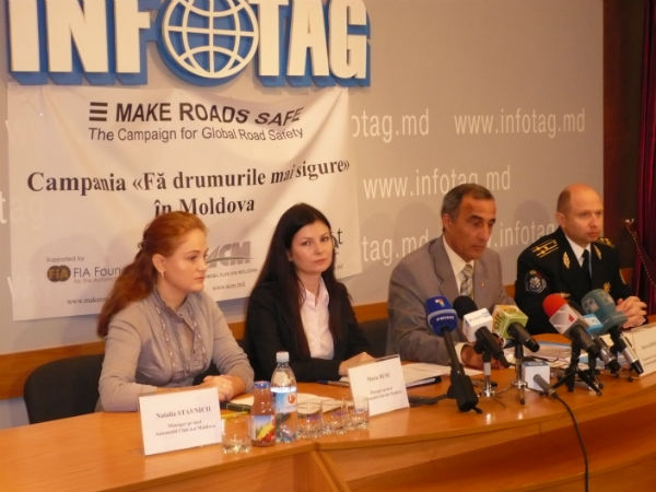 Press conference on the occasion of the World Day of Remembrance for Road Traffic Victims